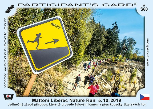 Mattoni Liberec Nature Run  5. 10. 2019