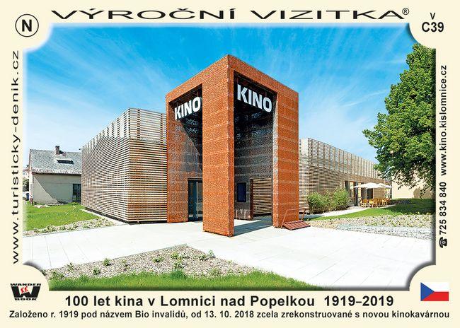 100 let kina v Lomnici nad Popelkou  1919–2019