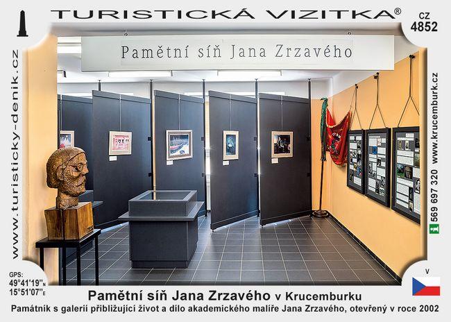 Pamětní síň Jana Zrzavého v Krucemburku