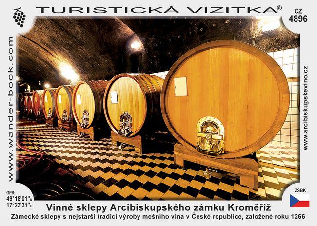 Vinné sklepy Arcibiskupského zámku Kroměříž