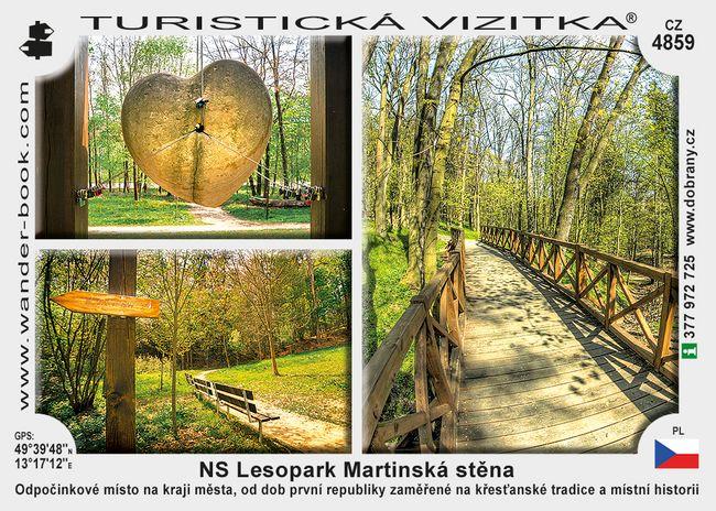 NS Lesopark Martinská stěna