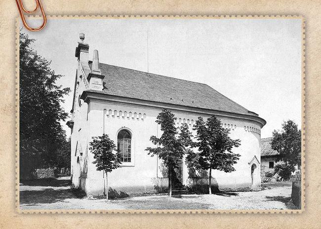 Evangelický kostel ve Džbánově u Voděrad