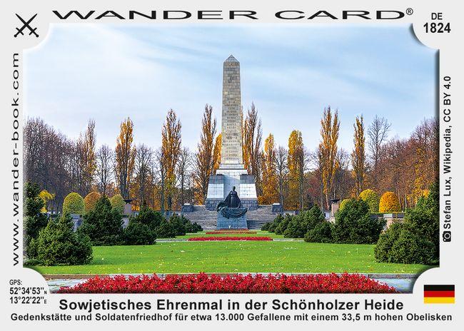 Sowjetisches Ehrenmal in der Schönholzer Heide