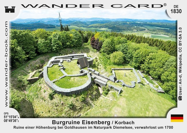 Burgruine Eisenberg / Korbach
