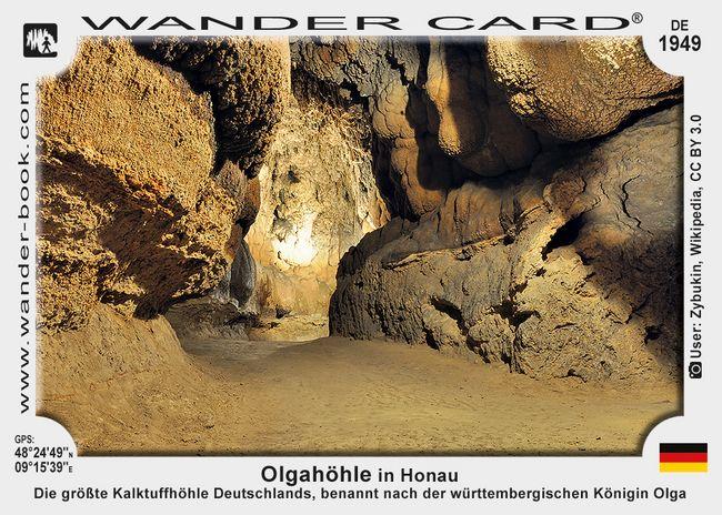Olgahöhle in Honau