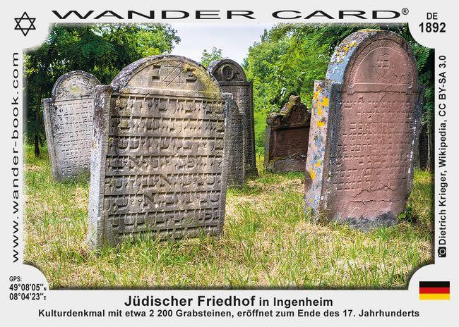 Jüdischer Friedhof in Ingenheim