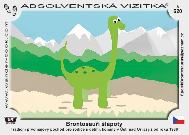 Brontosauří šlápoty