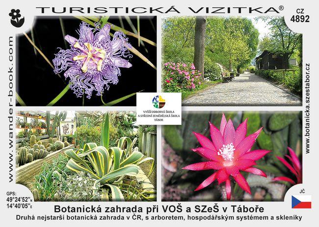 Botanická zahrada při VOŠ a SZeŠ v Táboře