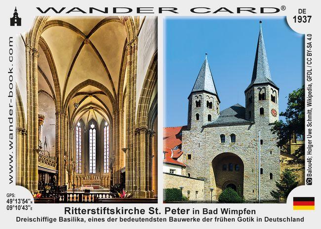 Ritterstiftskirche St. Peter in Bad Wimpfen