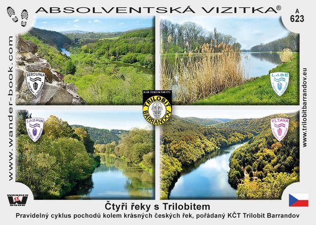 Čtyři řeky s Trilobitem