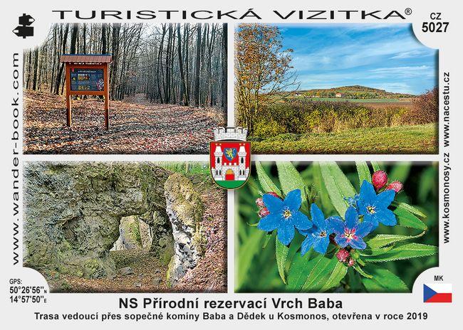 NS Přírodní rezervací Vrch Baba