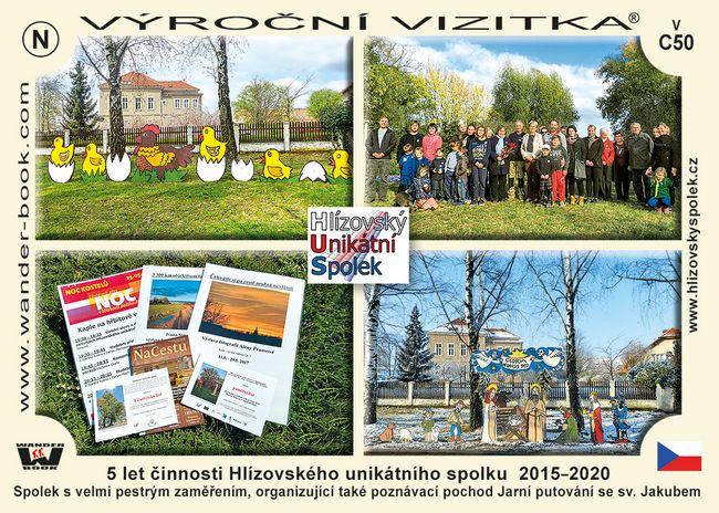5 let činnosti Hlízovského unikátního spolku  2015–2020