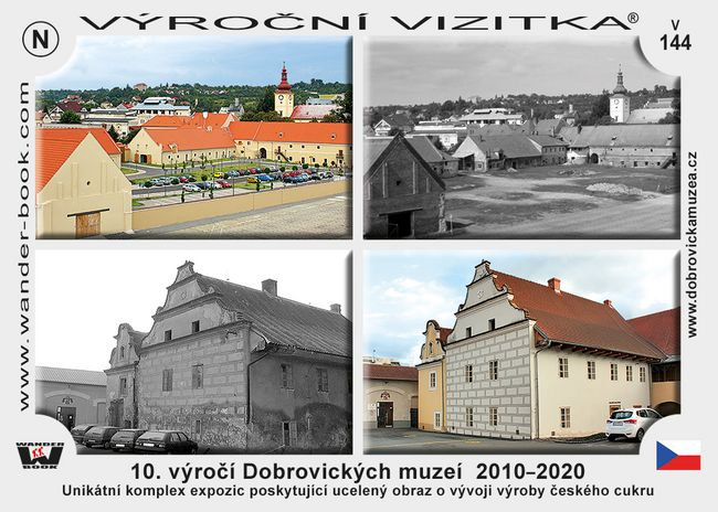 10. výročí Dobrovických muzeí  2010–2020