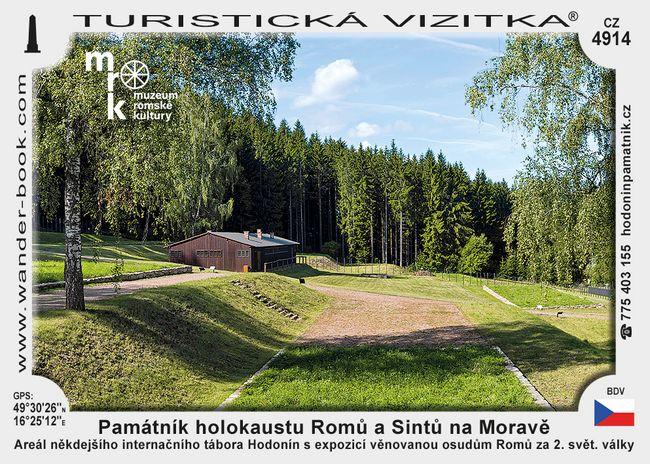 Památník holokaustu Romů a Sintů na Moravě