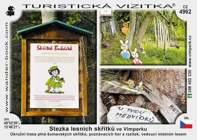 Stezka lesních skřítků ve Vimperku