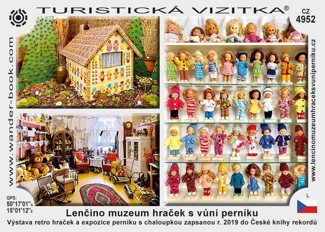 Lenčino muzeum hraček s vůní perníku