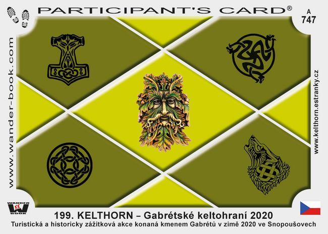 199. KELTHORN – Gabrétské keltohraní 2020