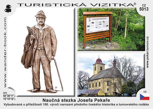 Naučná stezka Josefa Pekaře