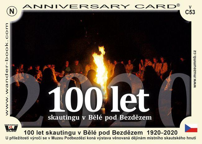 100 let skautingu v Bělé pod Bezdězem  1920–2020
