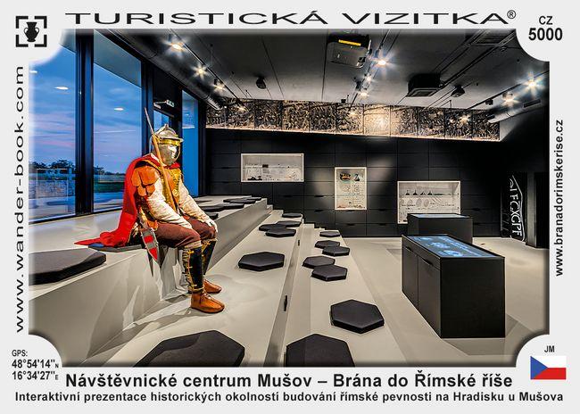 Návštěvnické centrum Mušov – Brána do Římské říše