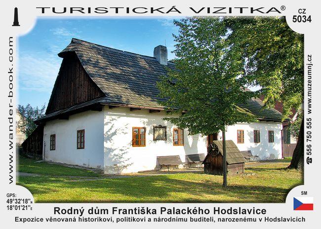 Rodný dům Františka Palackého Hodslavice