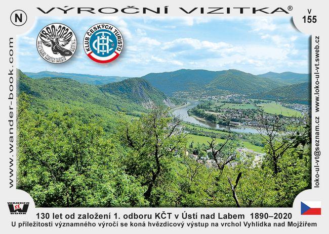 130 let od založení 1. odboru KČT v Ústí nad Labem  1890–2020