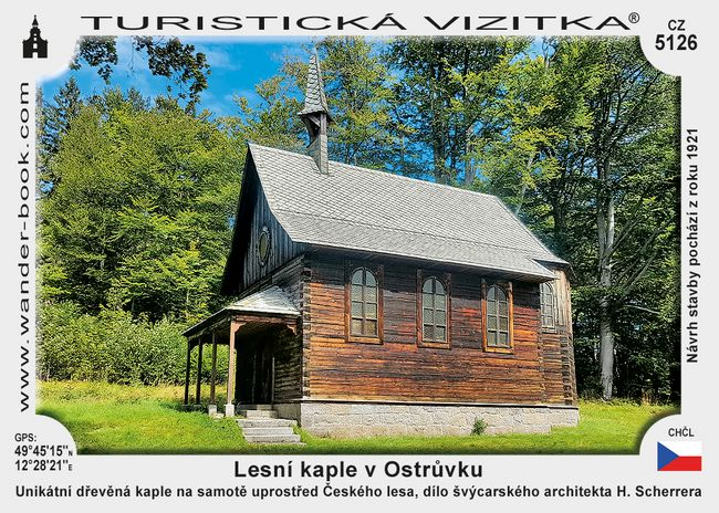 Lesní kaple v Ostrůvku