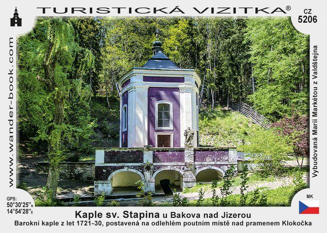 Kaple sv. Stapina u Bakova nad Jizerou
