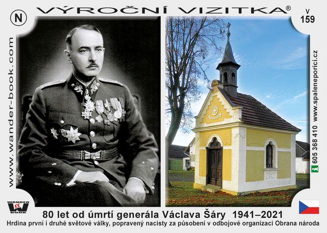 80 let od úmrtí generála Václava Šáry  1941–2021