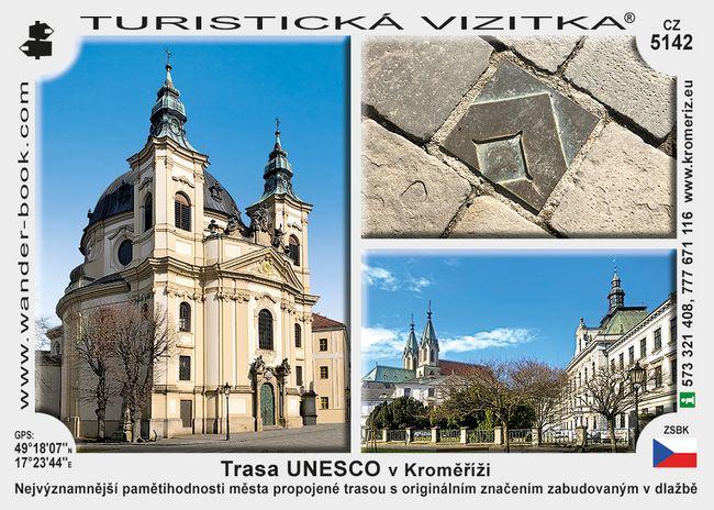 Trasa UNESCO v Kroměříži