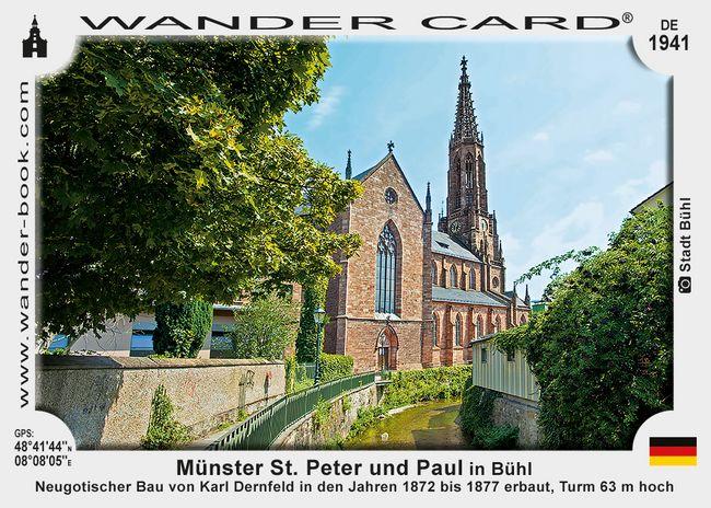 Münster St. Peter und Paul in Bühl