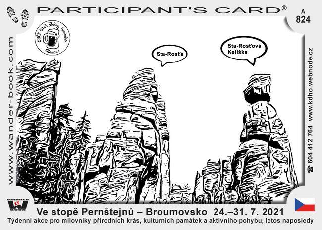 Ve stopě Pernštejnů – Broumovsko  24.–31. 7. 2021