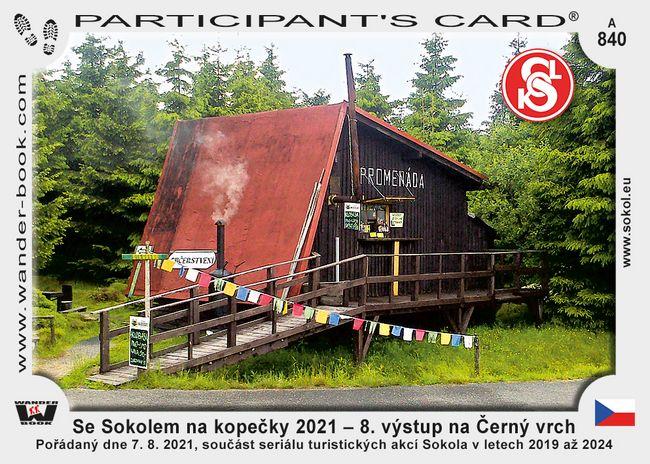 Se Sokolem na kopečky 2021 – 8. výstup na Černý vrch