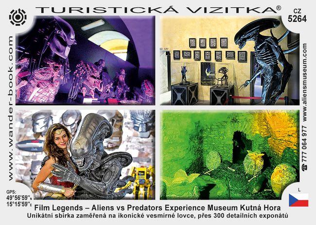 Film Legends – Aliens vs Predators Experience Museum Kutná Hora