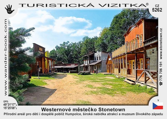 Westernové městečko Stonetown
