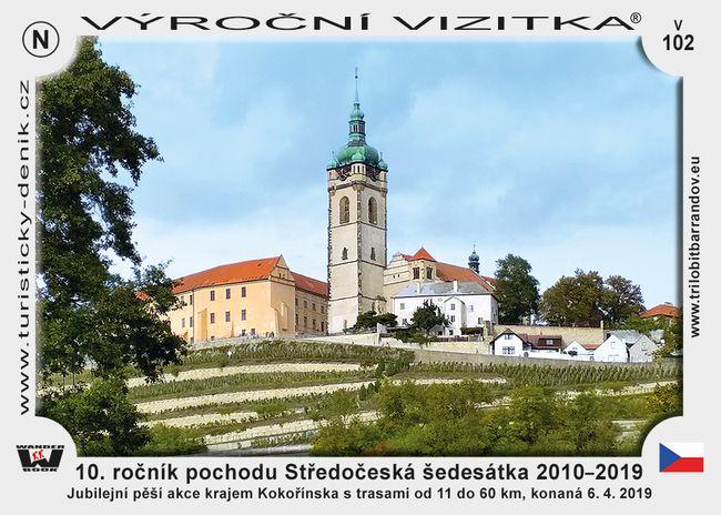 10. ročník pochodu Středočeská šedesátka 2010–2019