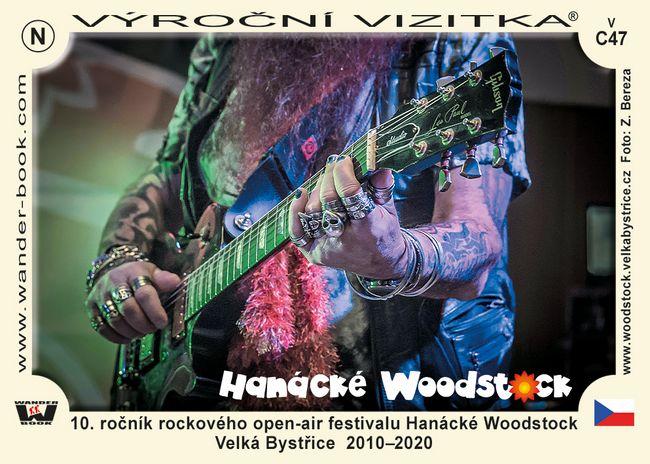 10. ročník rockového open-air festivalu Hanácké Woodstock Velká Bystřice  2010–2020