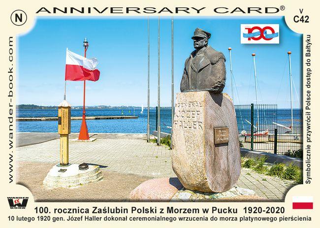 100. rocznica Zaślubin Polski z Morzem w Pucku 1920-2020