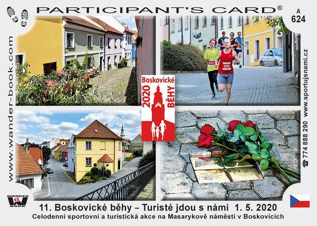 11. Boskovické běhy – Turisté jdou s námi  1. 5. 2020
