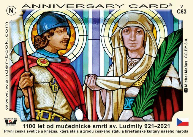 1100 let od mučednické smrti sv. Ludmily 921–2021