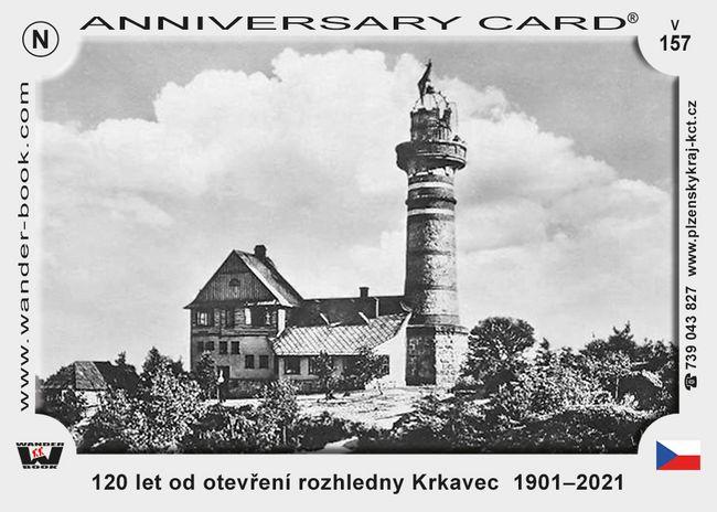 120 let od otevření rozhledny Krkavec  1901–2021