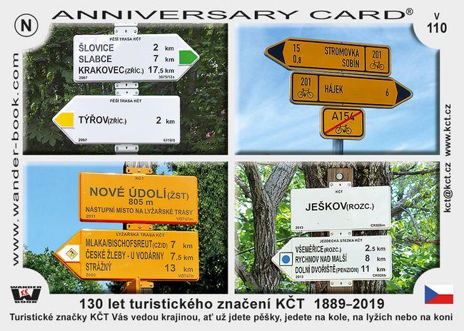 130 let turistického značení