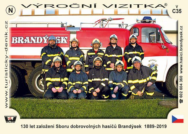 130 let založení Sboru dobrovolných hasičů Brandýsek  1889–2019