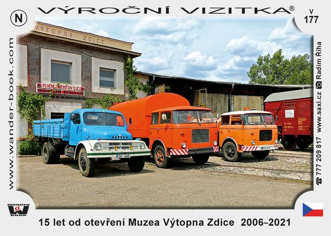 15 let od otevření Muzea Výtopna Zdice  2006–2021