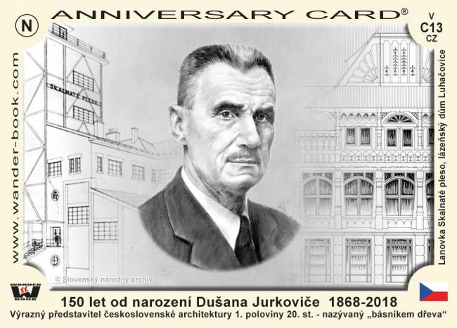 150 let od narození Dušana Jurkoviče  1868-2018