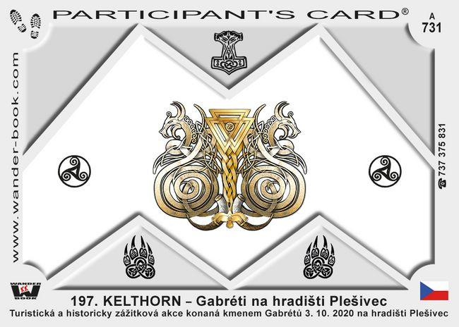 197. KELTHORN – Gabréti na hradišti Plešivec