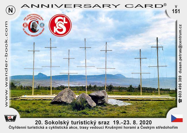 20. Sokolský turistický sraz  19.–23. 8. 2020