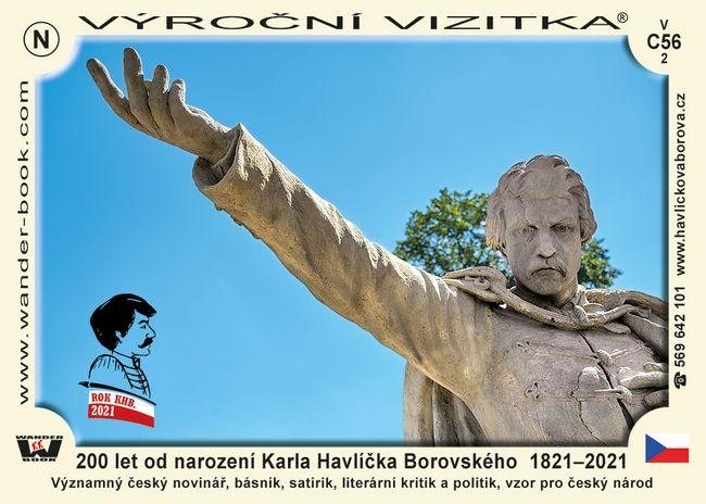 200 let od narození Karla Havlíčka Borovského  1821–2021