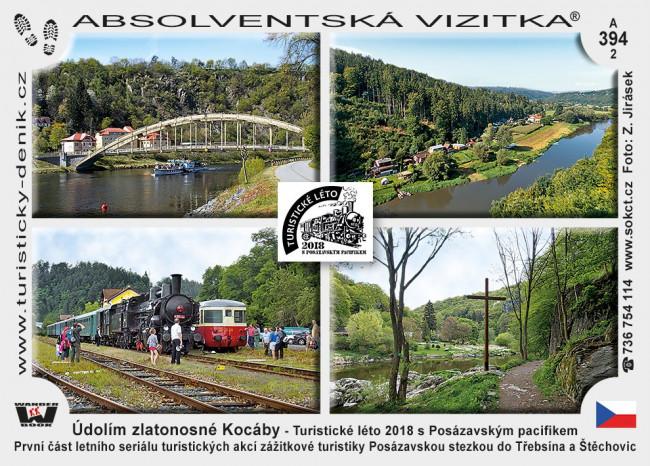 37. ročník Údolím zlatonosné Kocáby  23. 6. 2018