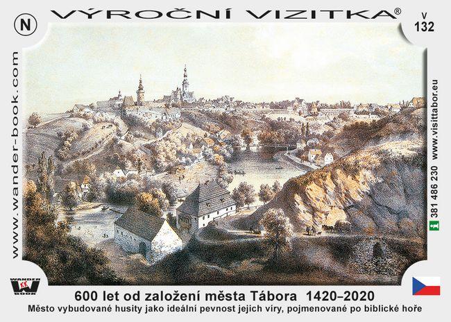 600 let od založení města Tábora  1420–2020